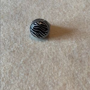 Black and  silver Premier Jewelry ring